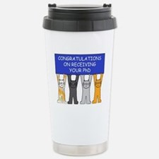 Congratulations on rece Stainless Steel Travel Mug
