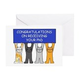 Phd Greeting Cards