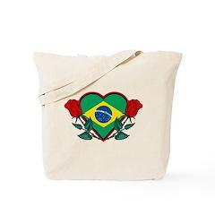 Love Brazil Tote Bag