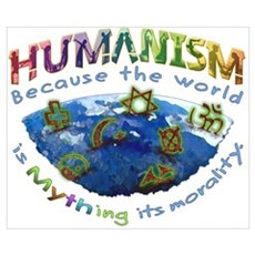Humanism vs Myth Poster