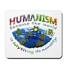 Humanism vs Myth Mousepad