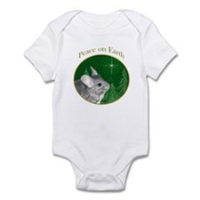 Chinchilla Peace Infant Bodysuit