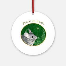 Chinchilla Peace Ornament (Round)