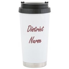 District Nurse Artistic Travel Mug
