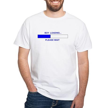BOY LOADING... White T-Shirt