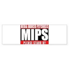 MIPS LOGO 1 Bumper Sticker