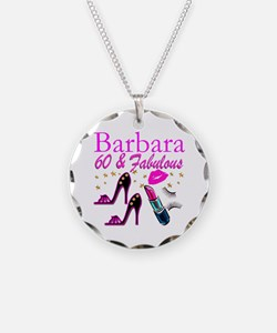 FUN FABULOUS 60TH Necklace