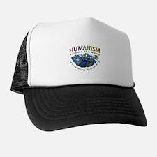 Humanism vs Myth Trucker Hat