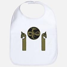 Viking emblem Bib