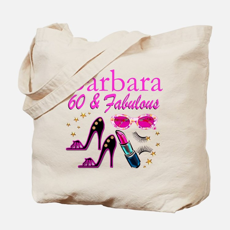 FUN FABULOUS 60TH Tote Bag