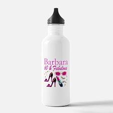 FUN FABULOUS 60TH Water Bottle