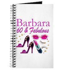 FUN FABULOUS 60TH Journal