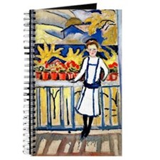 Macke - Girl on a Balcony I Journal