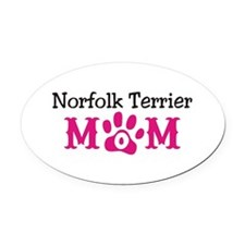 Norfolk Terrier Oval Car Magnet