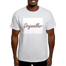 Drywaller Artistic Job Design T-Shirt