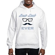 Hipster Best Dad Ever Hoodie
