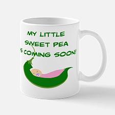 BABY GIRL - MY LITTLE SWEET PEA IS COMI Mug