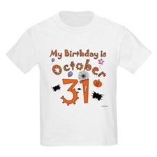 Halloween Birthday T-Shirt
