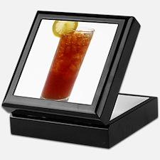 A Glass of Iced Tea Keepsake Box