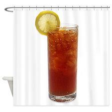 A Glass of Iced Tea Shower Curtain