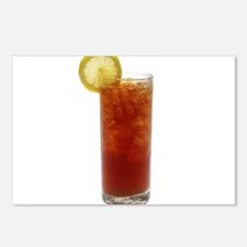 A Glass of Iced Tea Postcards (Package of 8)