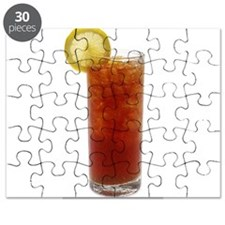 A Glass of Iced Tea Puzzle
