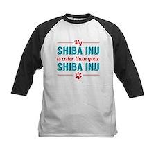 Cuter Shiba Inu Baseball Jersey
