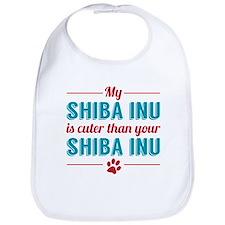 Cuter Shiba Inu Bib