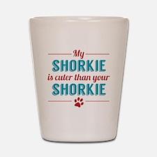 Cuter Shorkie Shot Glass
