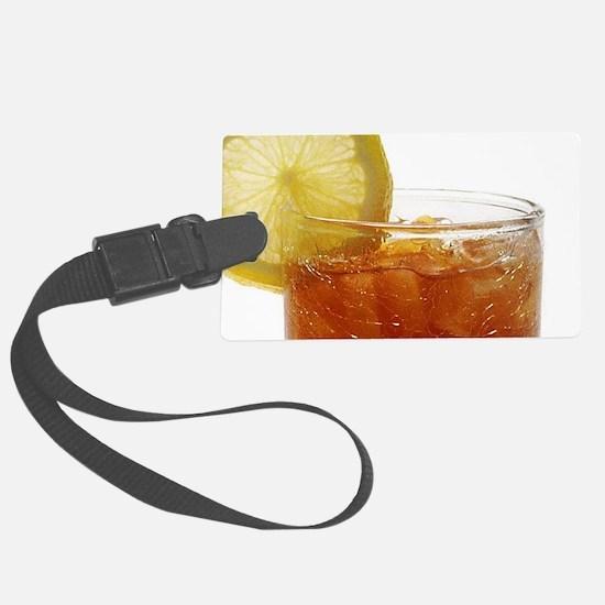 A Glass of Iced Tea Luggage Tag