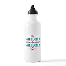 Cuter Skye Terrier Sports Water Bottle