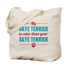 Cuter Skye Terrier Tote Bag