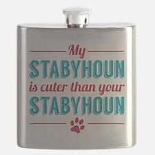 Cuter Stabyhoun Flask