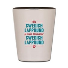 My Swedish Lapphund Shot Glass