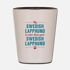 My Swedish Lapphund Shot Glass