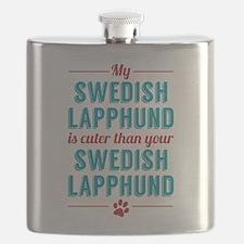 My Swedish Lapphund Flask