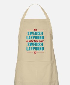 My Swedish Lapphund Apron