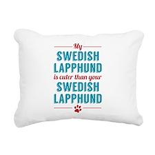My Swedish Lapphund Rectangular Canvas Pillow