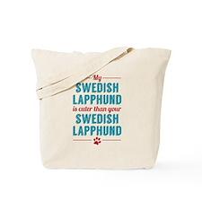 My Swedish Lapphund Tote Bag