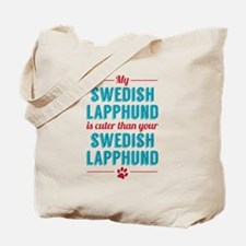 My Swedish Lapphund Tote Bag