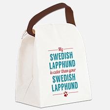 My Swedish Lapphund Canvas Lunch Bag