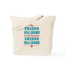 My Swedish Vallhund Tote Bag