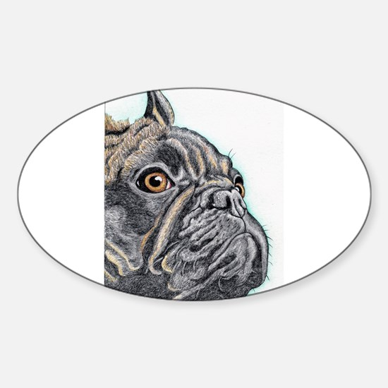 French Bulldog Brindle Decal