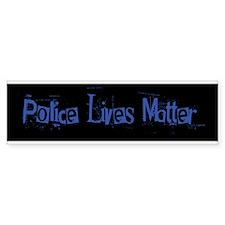 Police Lives Matter Bumper Bumper Sticker