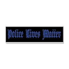 Police Lives Matter Car Magnet 10 x 3