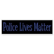 Police Lives Matter Bumper Car Sticker