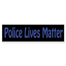 Police Lives Matter Bumper Car Car Sticker