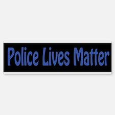 Police Lives Matter Bumper Car Car Sticker