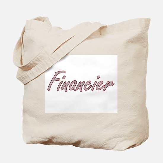 Financier Artistic Job Design Tote Bag