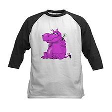 Purple Hippo Baseball Jersey